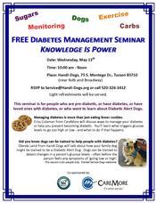Diabetes Mgt Seminar